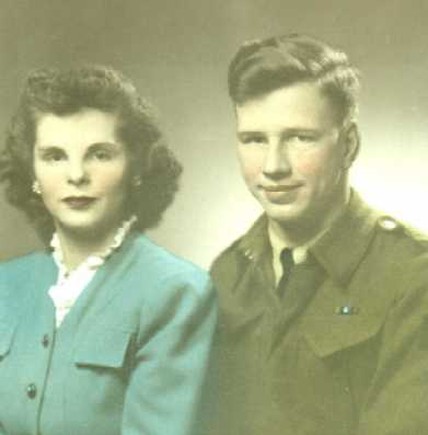 My mother and father first met in Pembroke, Ontario.