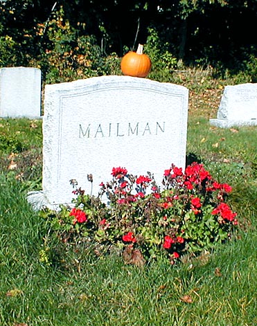 The Grave of the Unknown Mailman